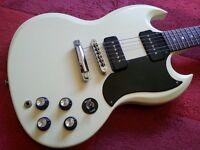 Gibson SG 60s Special Electric Guitar P90s USA Les Paul Fender Epiphone Jackson Ibanez White