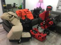 Bugaboo Cameleon pram / buggy + maxi cosi car seat + extras