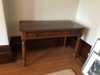 Walnut wood table for sale