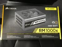 Corsair rm1000x PSU,Used complete boxed