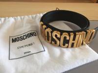 Authentic MOSCHINO Belt *LIKE NEW*