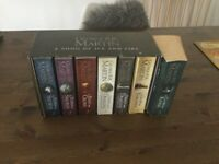 Game of Thrones Book Set plus one