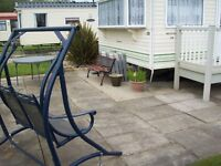 For Sale a static caravan in Skegness, in good condition and ready to use in September