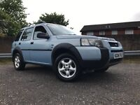 Land Rover Freelander Td4 4x4 Long Mot Full Service History Good Spec Towbar Half Leather Etc !!!