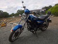 LEXMOTO RANGER 125 MOTOR BIKE (12 MONTHS MOT)