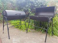 Jumbuck oil drum Charcoal BBQ