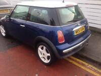 2002 51 Reg Mini Cooper 1.6 Petrol Blue Good Runner