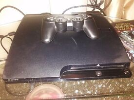 Play station 3 with 7 games