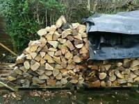 Logs seasoned hardwood