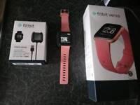 Fitbit versa rose gold