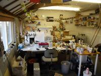 art studio space to rent