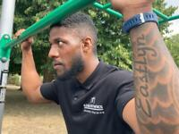 Personal trainer in Fulham,London. Outdoor functional trainer