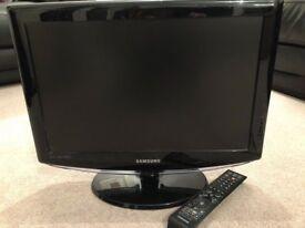 "19"" Samsung Le19R88Bd Hd Ready Digital Freeview Lcd Tv"