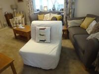 Ikea Chair Bed - seldom used - 3 or 4 times (smoke free home).