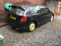 Honda Type R EP3 52 plate for spares