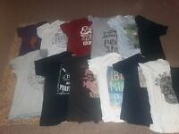 12 mens xl t shirts replay firetrap jack jones
