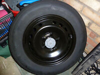 Nissan Qashqai Space saver wheel and tyre - never used