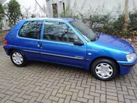 Peugeot 106 1.1 petrol,full mot,1 owners,67k,fsh,no clio,punto,fiesta,corsa,