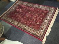 Gorgeous Vintage Persian Oriental Handmade Rug 100% Pure New Wool