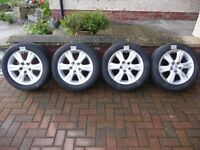 "LEXUS 16"" ALLOYS with Bridgestone all- weather tyres"