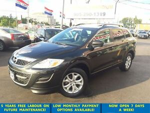 2012 Mazda CX-9 GS AWD 7-Pass/Leather/Sunroof&GPS