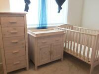 Mothercare 3-Piece Nursery Furniture Set (can be sold separately)