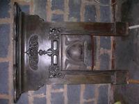 """Original Art Nouveau Fire Surround. Reg' No' 416230. 1903/04. 30"""" wide x 54"""" high."""