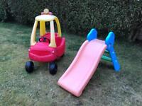 Little Tikes Cozy Coupe / Grow N Up slide