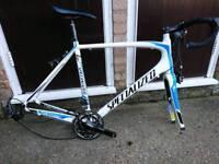 "Specialized tarmac carbon sl3 xl (no wheels)58"" frame"
