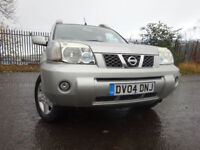04 NISSAN X-TRAIL TOP-SPEC AUTOMATIC 4X4,MOT OCT 018,PART HISTORY,2 KEYS,VERY RELIABLE FAMILY 4X4