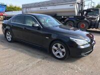 08 BMW 520D SE LEATHER SAT NAV P/EX WELCOME