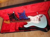 Vintage V6LB Laguna Blue Electric Guitar