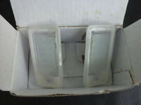 Audi A3 LED Rear Numberplate lamps (boxed)