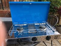 GRILLOGAZ NOUVEAU CAMPING STOVE WITH GRILL
