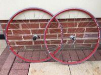 Pair of Road Bike Wheels