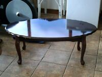 Wooden coffee table,