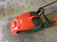 Flymo Glider 330 Electric Hover Collect Lawnmower 1450 W