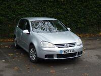 2007 Volkswagen Golf 1.9 TDI Match Hatchback 5door silver diesel service history MOT hpi clear