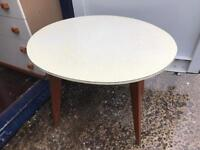 Retro Formica kitchen table FREE DELIVERY PLYMOUTH AREA