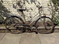 Vintage astra 3 speed bike
