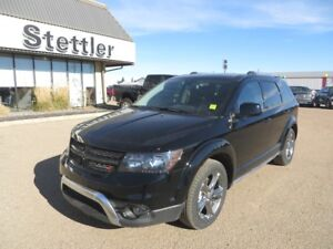 2017 Dodge Journey CROSSROAD AWD DVD! NAV! SUNROOF! 7 PASSENGER!