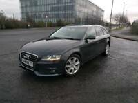 Blue 2012 model Audi A4 Avant 2.0 TDIe diesel,£30 tax a year satnav..