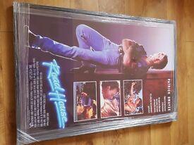Patrick swayze- Roadhouse movie poster - framed