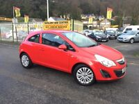 VAUXHALL CORSA 1.2 i Energy 3dr (red) 2013