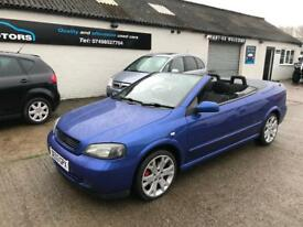 Vauxhall Astra Convertible 1.8 2003 PX TO CLEAR!