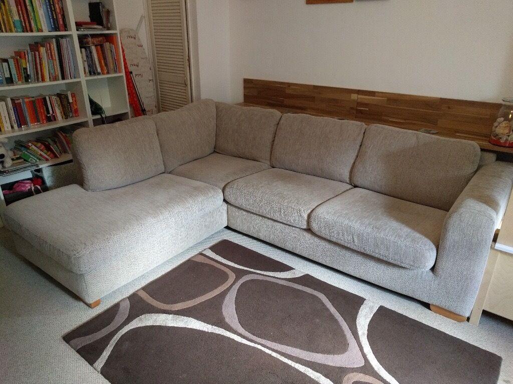 John Lewis Living Room John Lewis Felix Corner Sofa In Beige In North London London