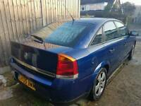 Blue Vauxhall vectra turbo diesel