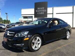 2012 Mercedes-Benz C-Class C250 | 1.8L COUPE | BEIGE LEATHER | N