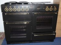 Rangemaster 110 electric double oven and hob.