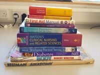Bundle of nursing / clinical medicine / anatomy books